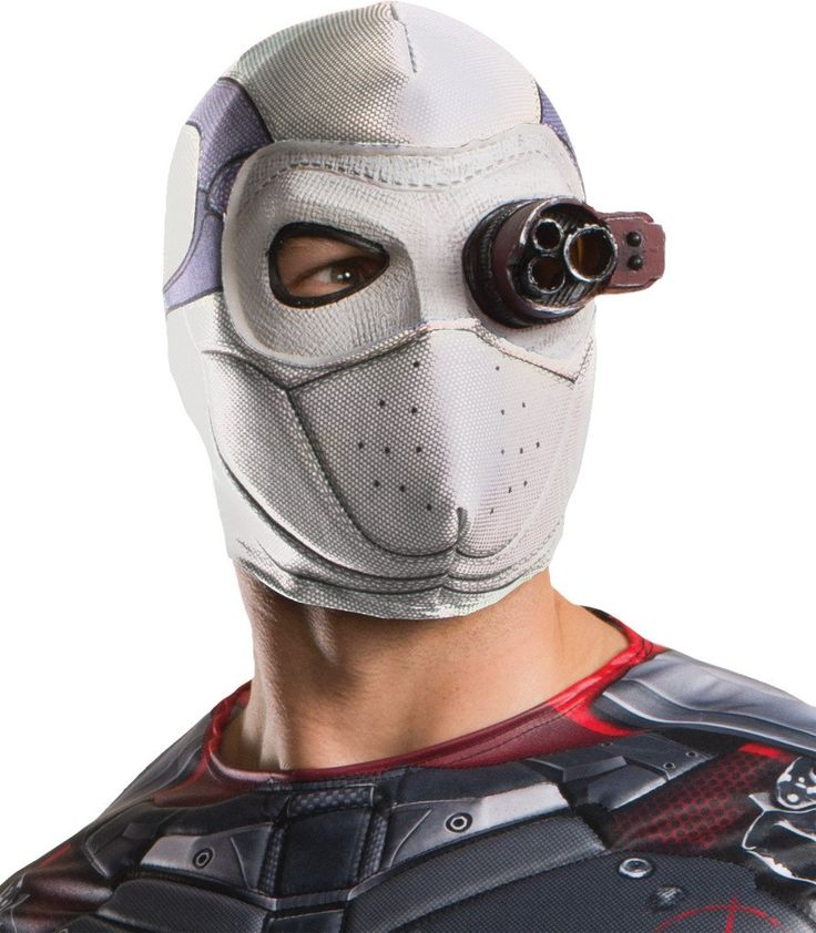 Costume Mask: Squad Deadshot Mask - 1 Units