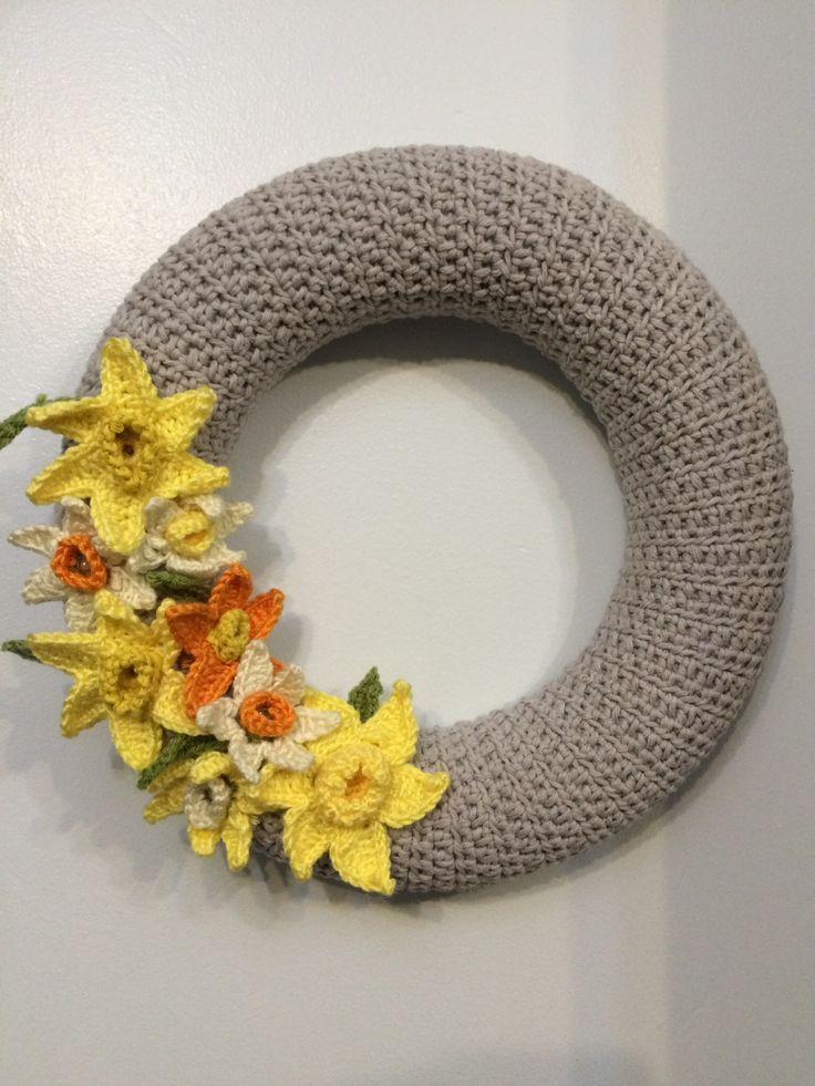 401 Best Trkrnze Images On Pinterest Crochet Wreath Crowns And