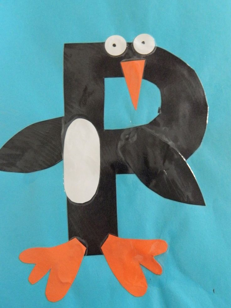 P = Penguin (picture only)