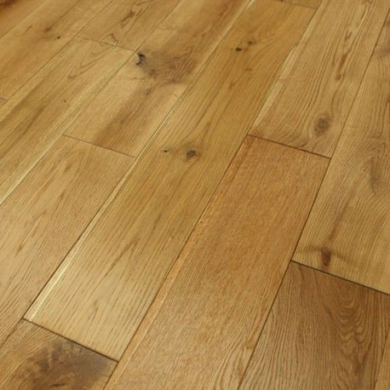 150mm Brushed and Oiled Engineered European Oak Wood Flooring 20/6mm Thick