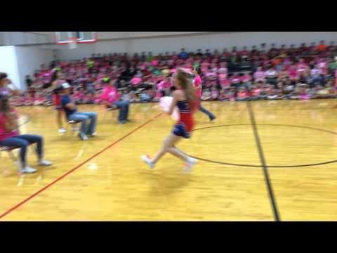 Hico High School - Pep Rally - Sibling Game - YouTube