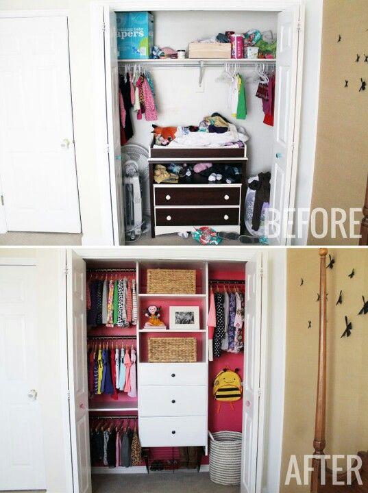 Kids Closet Organization System
