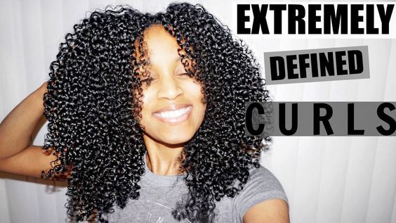 Shingling Method for EXTREMELY Defined Curls (ALL Natural Hair Types) [Video] - https://blackhairinformation.com/video-gallery/shingling-method-extremely-defined-curls-natural-hair-types-video/
