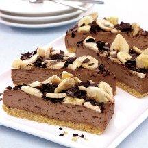 WeightWatchers.nl: Weight Watchers recept - Bananen chocoladetaart