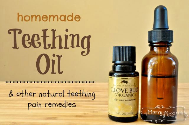 Homemade Teething Oil and Other Natural Teething Pain Remedies for Babies and Toddlers
