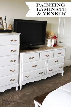 25+ Unique Painting Laminate Dresser Ideas On Pinterest | DIY Furniture  Laminate, Laminate Furniture And How To Paint Laminate