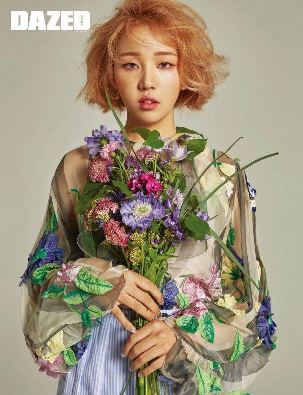Baek Ah Yeon Poses for Dazed & Confused | Koogle TV