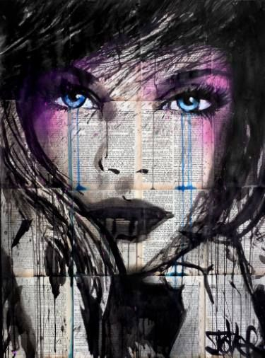 "Saatchi Art Artist Loui Jover; Drawing, ""evermore"" #art"