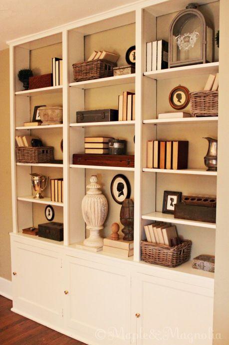 Bookshelf Decorating Ideas Pinterest: Home Decorating Ideas