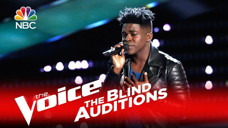 """The Voice 2016 Blind Audition - Paxton Ingram: """"Dancing on My Own"""""""