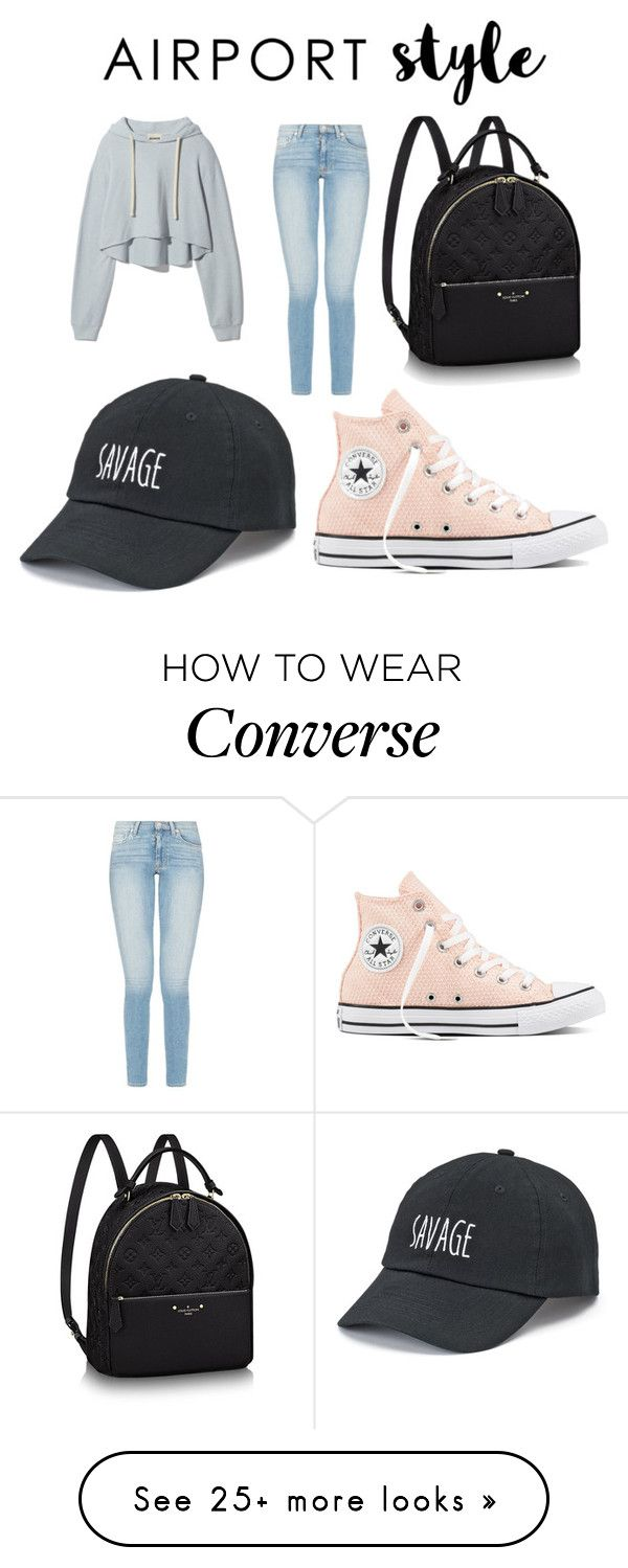 """Time To Travel"" by most-fashionable on Polyvore featuring SO and Converse"