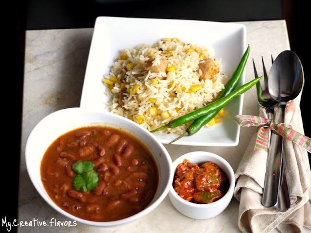 Rajma & Rice...My Favourite Indian Comfort Food...