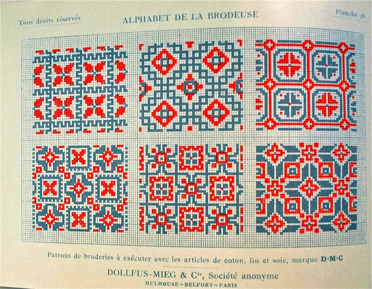 """Alphabet de la brodeuse"" catalogue DMC"