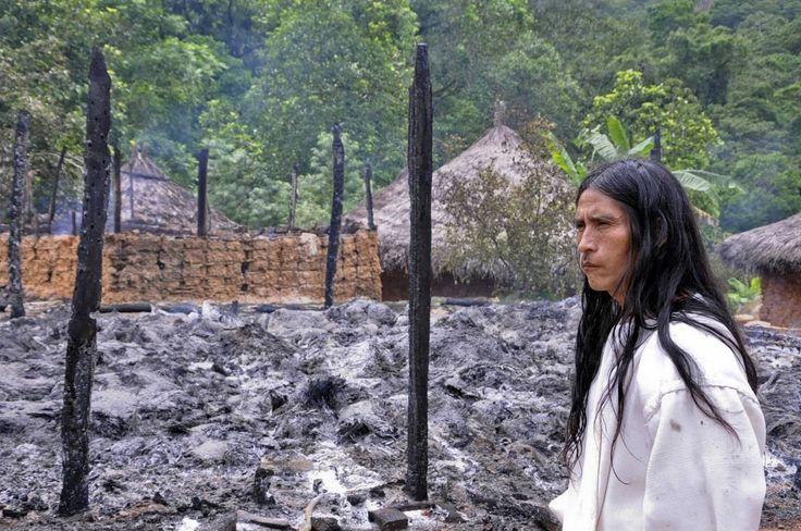 Un mamo Wiwa advirtió que la madre naturaleza esta enojada.Un mamo wiwa advirtió que de hoy en adelante abra violencia de la naturaleza. Dice  que La madre naturaleza está enojada por toda clase de profanación en la tierra.