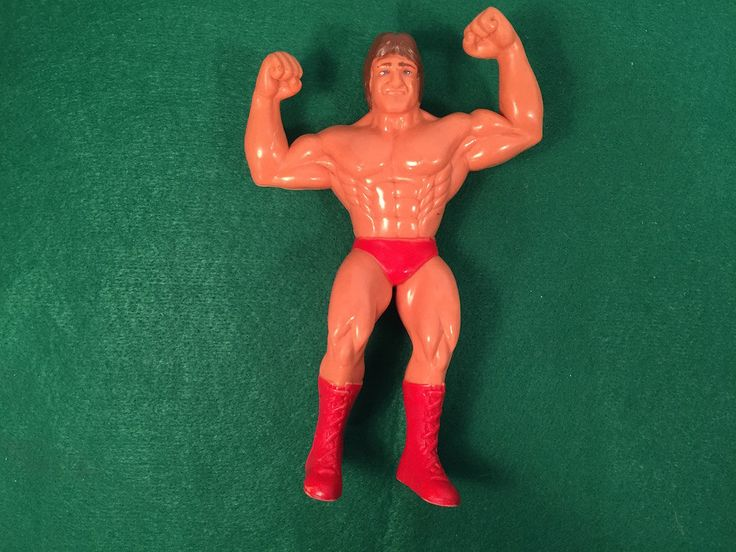 "Vintage Wrestling Doll 1985 LJN Titan WWF WWE Wrestling Superstars Paul Orndorff Large 8"" Rubber Action Figure by ABarnFullofToys on Etsy"