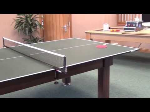 The Butterfly Full Size Table Tennis Table Top Measures By And Is Supplied  In 2 Halves.