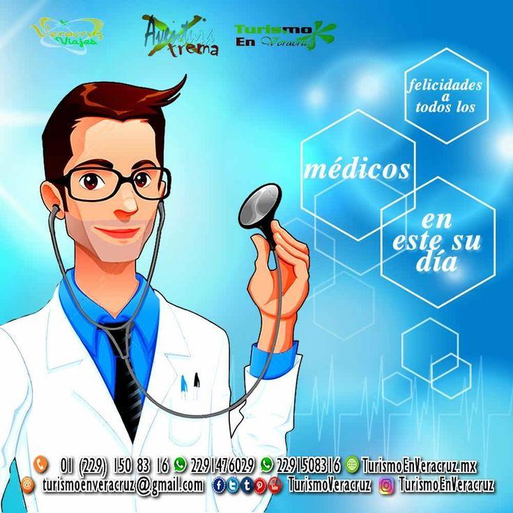 Feliz día del #médico gracias por curarnos y estar al pendiente de nuestra #salud http://www.turismoenveracruz.mx