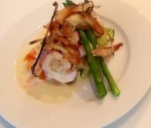 Steamed Prosciutto Wrapped Chicken Breast (Meal)