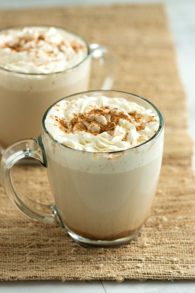 Make the popular coffee house pumpkin latte at home. The best homemade pumpkin spice latte recipe with pumpkin puree, coffee, milk, vanilla and fall spices. From inspiredtaste.net | @inspiredtaste