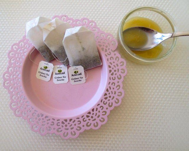 Grüner Tee Peeling Zutaten