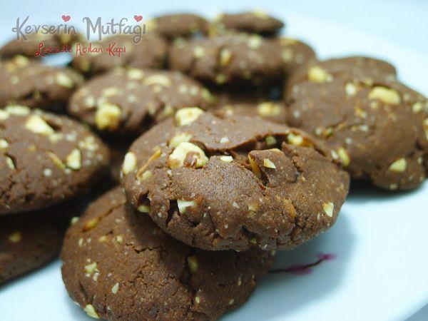 Fındıklı Kakaolu Kurabiye Tarifi | Kevser'in Mutfağı - Yemek Tarifleri