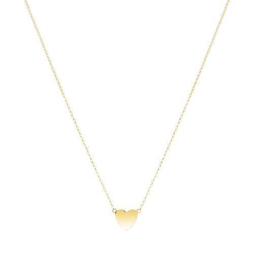 P: Mini heart necklace - Necklaces - Necklaces  - Sophie by Sophie