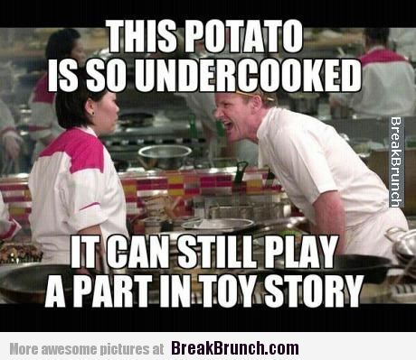 This potato can still play a part in Toy Story – Gordon Ramsay ...