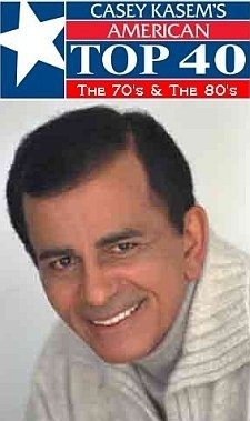 Casey Kasem; American Top 40 I loved listening to him on the radio!