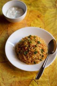 tawa pulao recipe, how to make tawa pulao   pulao recipes