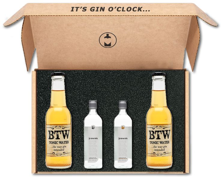 It's coming soon! Gin o'clock - Bermondsey box