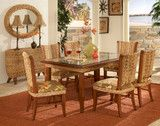 Rattan and Wicker Dining Sets - tropical - Dining Sets - Other Metro - American Rattan & Wicker