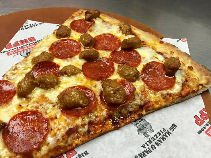 When you look at this pizza – do all your other thoughts melt away? #BMPP Happy #Friday🍕 https://ordernow.bigmamaspizza.com/