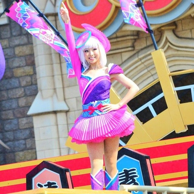 @mi_0112 - まだ見たことがない群舞はみなさんの素敵な写真で楽しんでる #tokyodisneyland ... - EnjoyGram