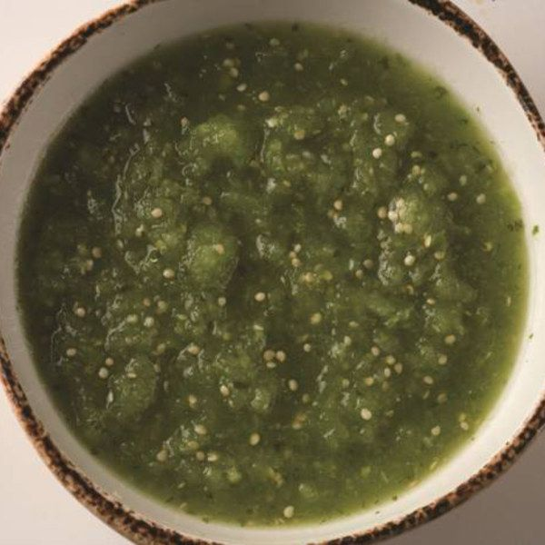 Tomatillo-Pasilla De Oaxaca Salsa