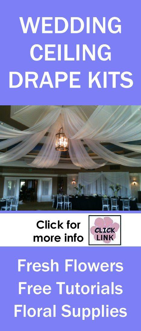 Wedding Reception Decoration Kits : Http wedding flowers and reception ideas ceiling decor diy kits for