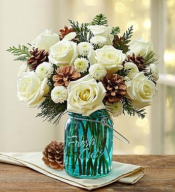 51 best Christmas Flowers Centerpieces images on Pinterest