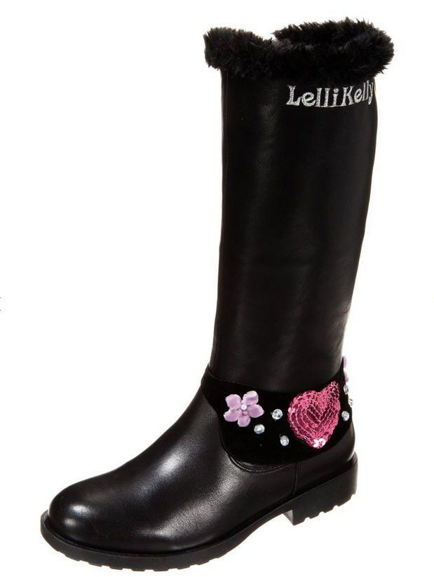Bottes fille Zalando, achat pas cher Lelli Kelly BELLA Bottes de neige noir prix promo Zalando 95.00 € TTC