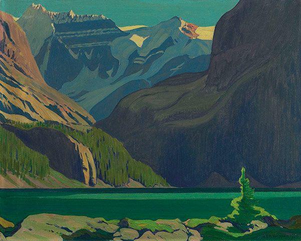 J.E.H. MacDonald (1873-1932), Canadian / Lake O'Hara (1929) / Art Gallery of Ontario