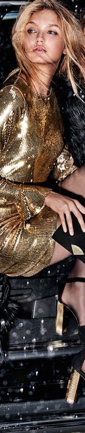 MICHAEL MICHAEL KORS Sequined Bell-Cuff Dress