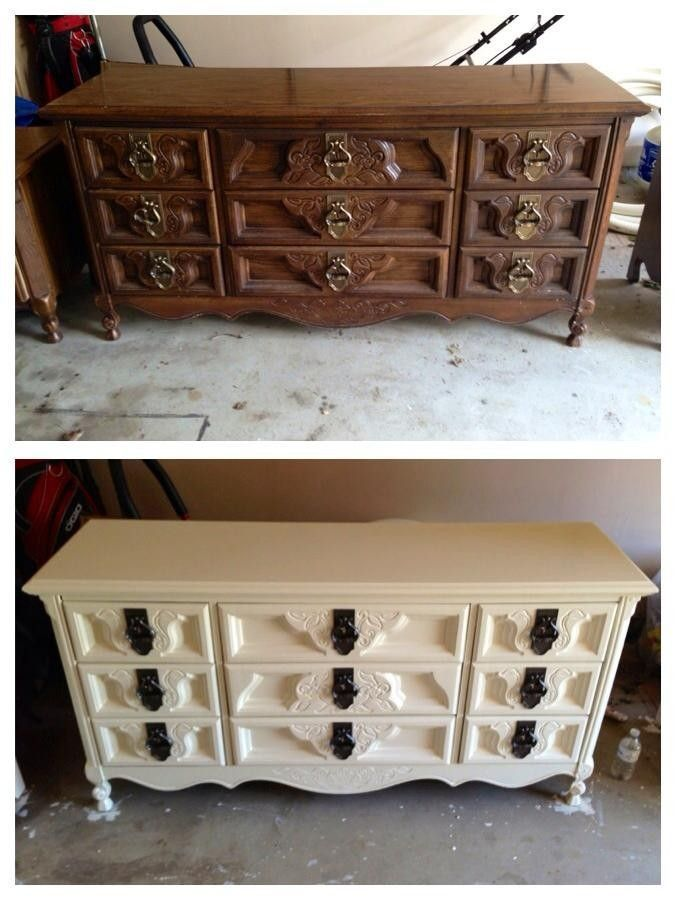 old cupboard restoration