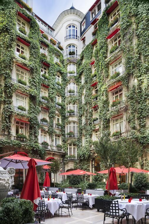 Plaza Athénée, Paris, France