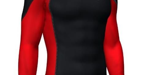 Mens compression Base layer top full Sleeve skin fit shirt : http://goo.gl/hd0Cpg