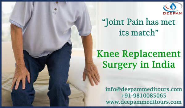 """Joint has met its Match""  #KneeReplacementSurgery in India .... http://goo.gl/nMc9hG    We will be happy to provide any medical assistance.  Call us at +91-9810085065 or  mail us at: info@deepammeditours.com"