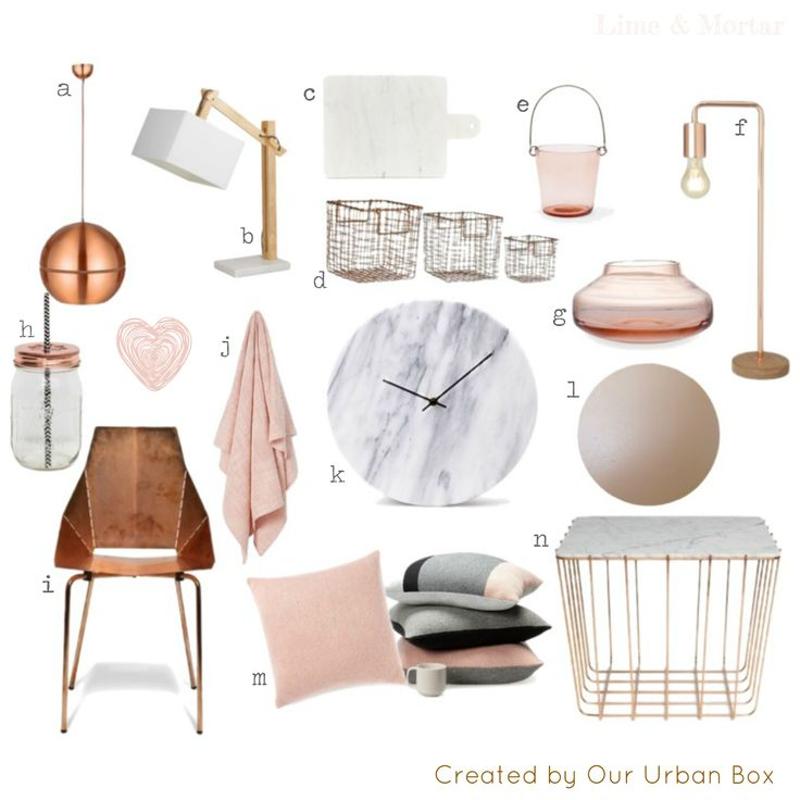 Lime & Mortar: Colour Pop: Copper & Blush