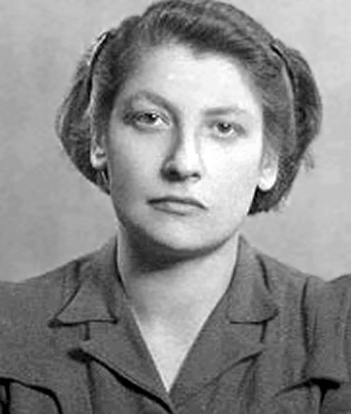 Warsaw Ghetto Uprising Leader...beauty, dignity and valour who refused to not go like a lamb to the slaughter.  Never let us forget them !