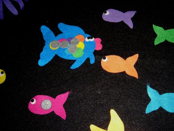 17 best images about the rainbow fish on pinterest the for Rainbow fish story