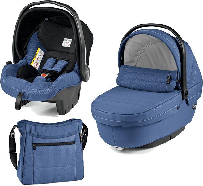 PEG-PÉREGO Set vanička + autosedačka + taška modular XL Mod Bluette