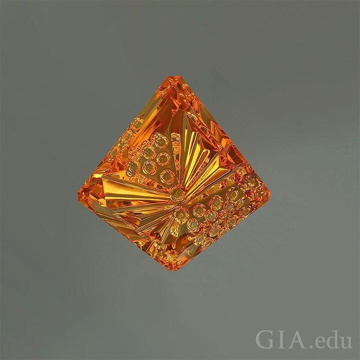 Are you starting to miss the sunny days of summer? Winter is coming, and the sunny yellow hue of #citrine, as seen in this 31.66 carat (ct) fantasy cut citrine, might be just what you need to warm up your days. Photo: David Dyer. Courtesy: John Dyer & Co.