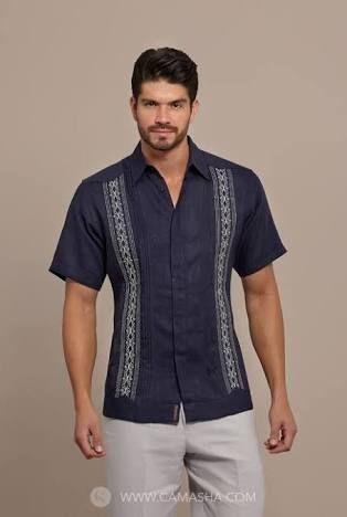 3e3fa34c25be9 Guayabera Shirt Style