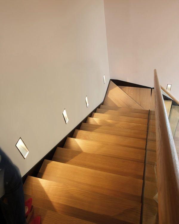 Mejores 23 im genes de iluminaci n para casas en pinterest - Iluminacion escaleras interiores ...